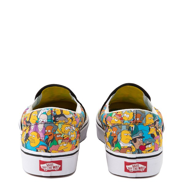 alternate view Vans x The Simpsons Slip On ComfyCush® Springfield Skate Shoe - MulticolorALT6