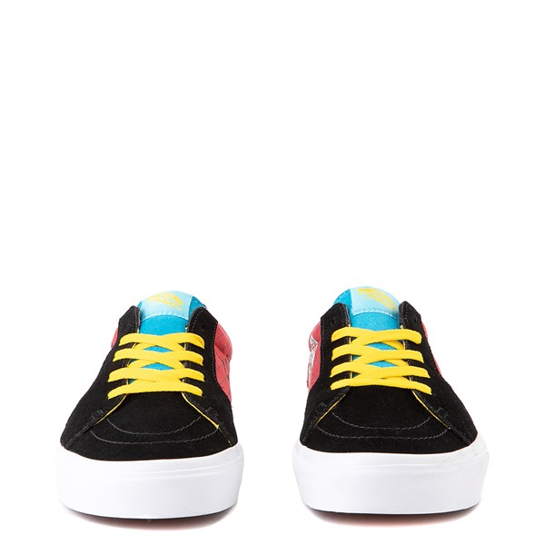 alternate view Vans x The Simpsons Sk8 Low El Barto Skate Shoe - Black / RedALT4