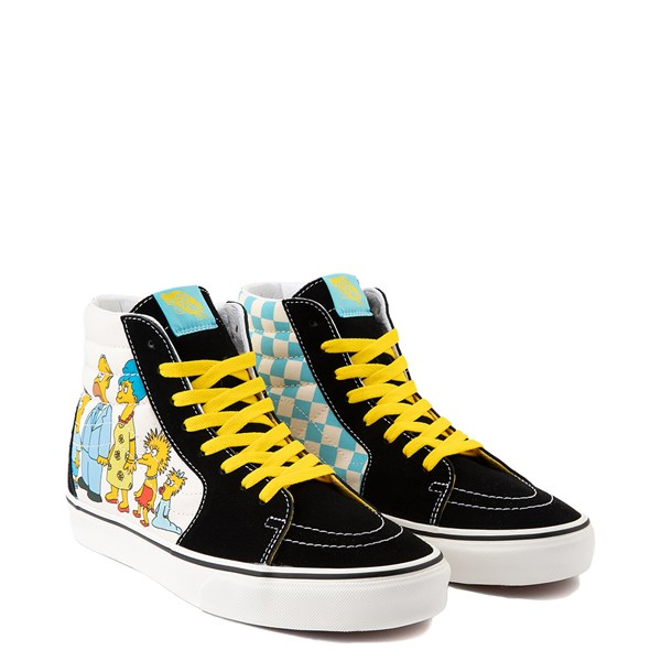 alternate view Vans x The Simpsons Sk8 Hi Simpsons Family 1987-2020 Skate Shoe - BlackALT1B