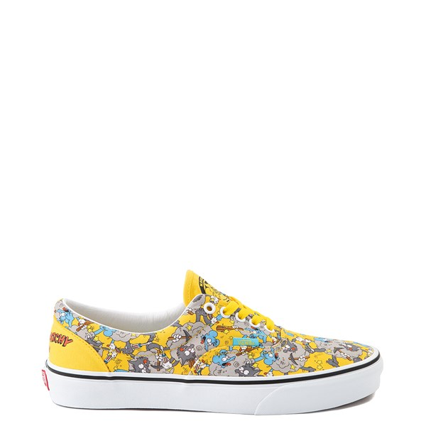 Main view of Vans x The Simpsons Era Itchy and Scratchy Skate Shoe - Yellow