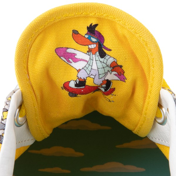 alternate view Vans x The Simpsons Era Itchy and Scratchy Skate Shoe - YellowALT10