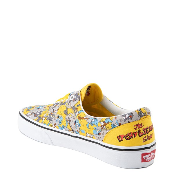 alternate view Vans x The Simpsons Era Itchy and Scratchy Skate Shoe - YellowALT2