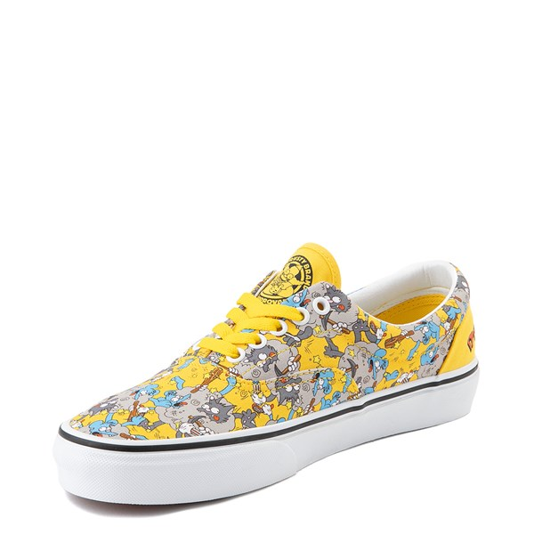 alternate view Vans x The Simpsons Era Itchy and Scratchy Skate Shoe - YellowALT3