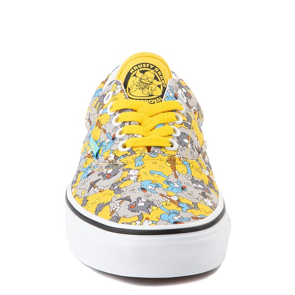 alternate view Vans x The Simpsons Era Itchy and Scratchy Skate Shoe - YellowALT4
