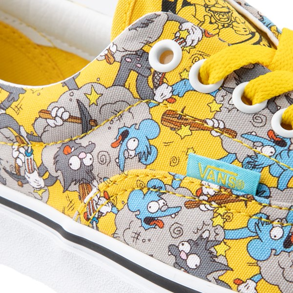 alternate view Vans x The Simpsons Era Itchy and Scratchy Skate Shoe - YellowALT7