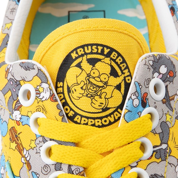 alternate view Vans x The Simpsons Era Itchy and Scratchy Skate Shoe - YellowALT9