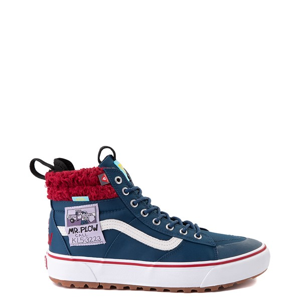 Main view of Vans x The Simpsons Sk8 Hi MTE 2.0 Mr. Plow Skate Shoe - Navy