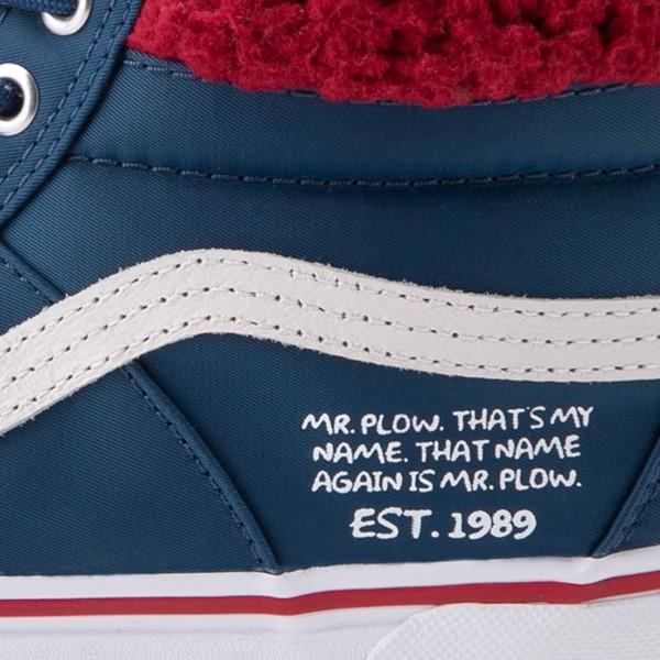 alternate view Vans x The Simpsons Sk8 Hi MTE 2.0 Mr. Plow Skate Shoe - NavyALT6