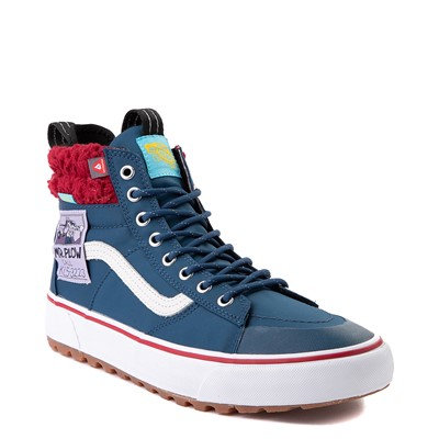 Alternate view of Vans x The Simpsons Sk8 Hi MTE 2.0 Mr. Plow Skate Shoe - Navy