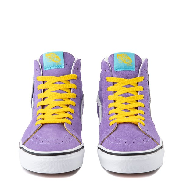 alternate view Vans x The Simpsons Sk8 Hi Lisa For President Skate Shoe - PurpleALT4