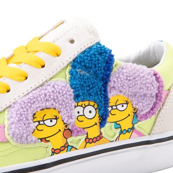 alternate view Vans x The Simpsons Old Skool The Bouviers Skate Shoe - NaturalALT7