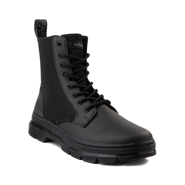 alternate view Dr. Martens Combs II Boot - Black MonochromeALT5