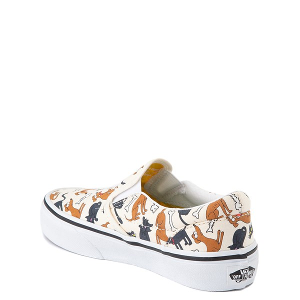 alternate view Vans x The Simpsons Slip On Family Pets Skate Shoe - Little Kid - NaturalALT1