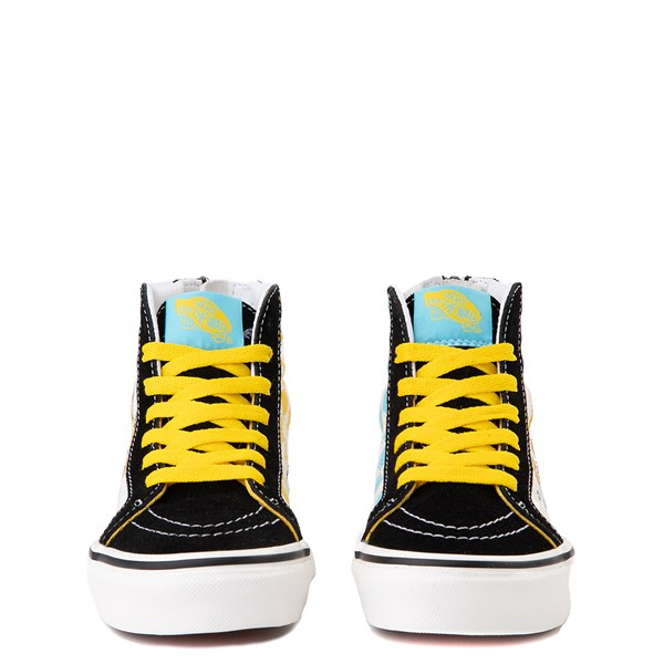 alternate view Vans x The Simpsons Sk8 Hi Zip Simpsons Family 1987-2020 Skate Shoe - Little Kid - BlackALT4