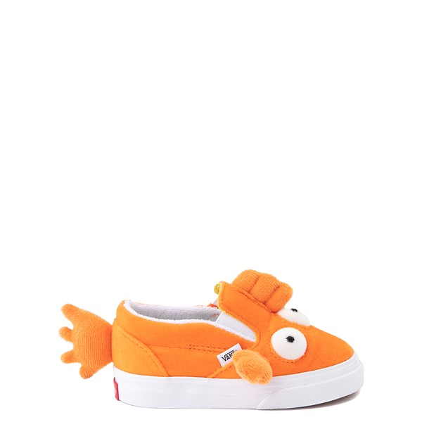 Vans x The Simpsons Slip On V Blinky Skate Shoe - Baby / Toddler - Orange