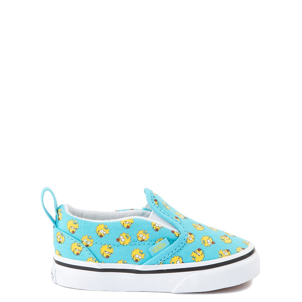 Vans x The Simpsons Slip On V Maggie Skate Shoe - Baby / Toddler - Baby Blue