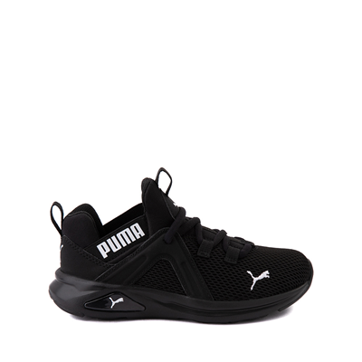 Main view of Puma Enzo 2 Weave Athletic Shoe - Little Kid - Black