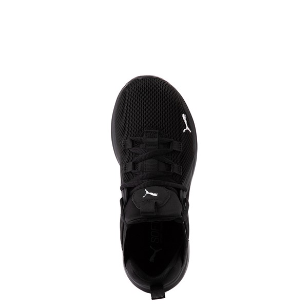 alternate view Puma Enzo 2 Weave Athletic Shoe - Big Kid - BlackALT4B