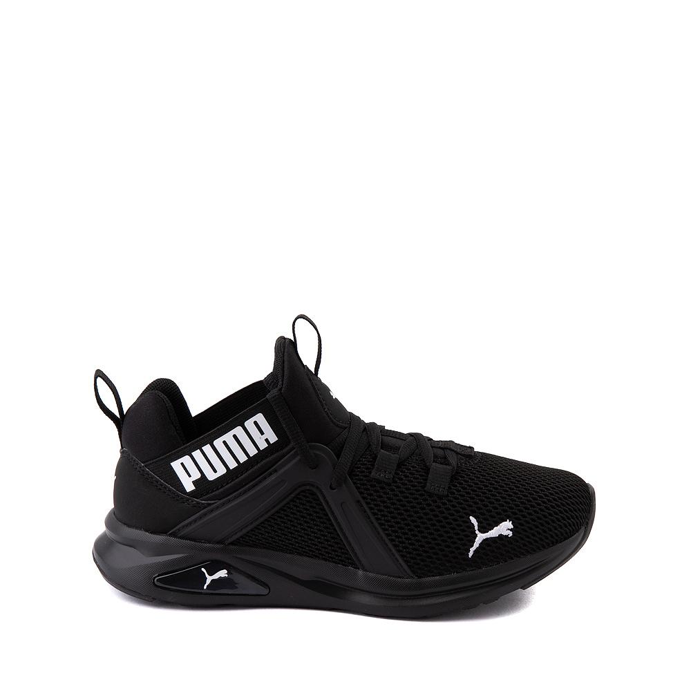 Puma Enzo 2 Weave Athletic Shoe - Big Kid - Black