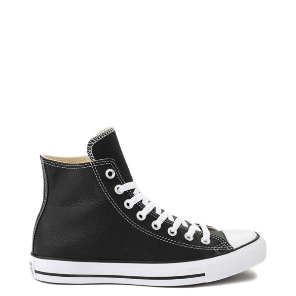 Converse Chuck Taylor All Star Hi Leather Sneaker - Black