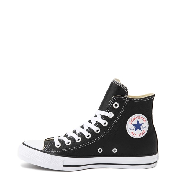 alternate view Converse Chuck Taylor All Star Hi Leather Sneaker - BlackALT1