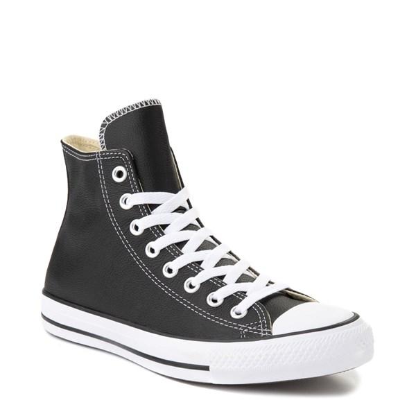 alternate view Converse Chuck Taylor All Star Hi Leather Sneaker - BlackALT1B