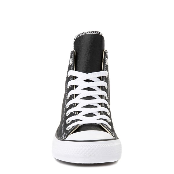 alternate view Converse Chuck Taylor All Star Hi Leather Sneaker - BlackALT4