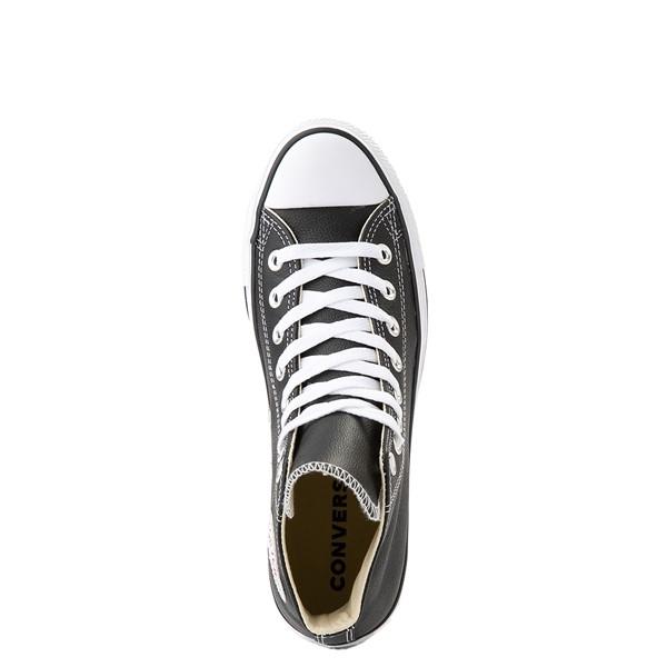 alternate view Converse Chuck Taylor All Star Hi Leather Sneaker - BlackALT4B