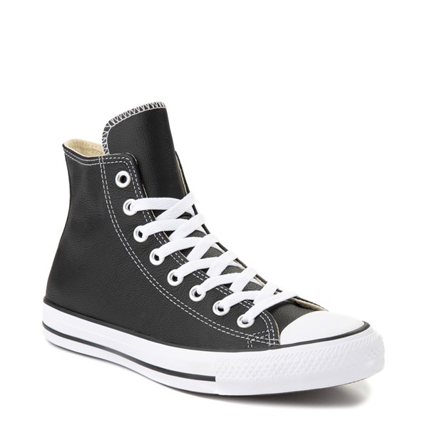 alternate view Converse Chuck Taylor All Star Hi Leather Sneaker - BlackALT5