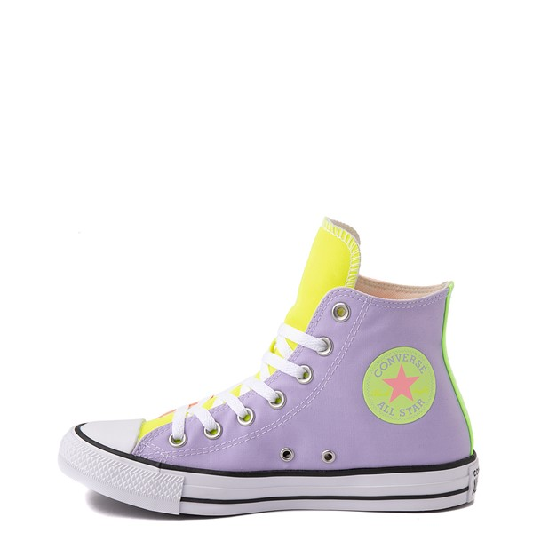 alternate view Converse Chuck Taylor All Star Hi Sneaker - Neon Color-BlockALT1