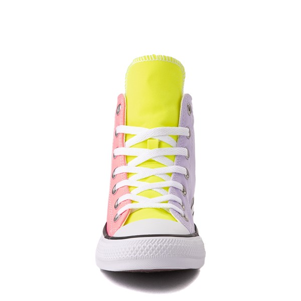 alternate view Converse Chuck Taylor All Star Hi Sneaker - Neon Color-BlockALT4