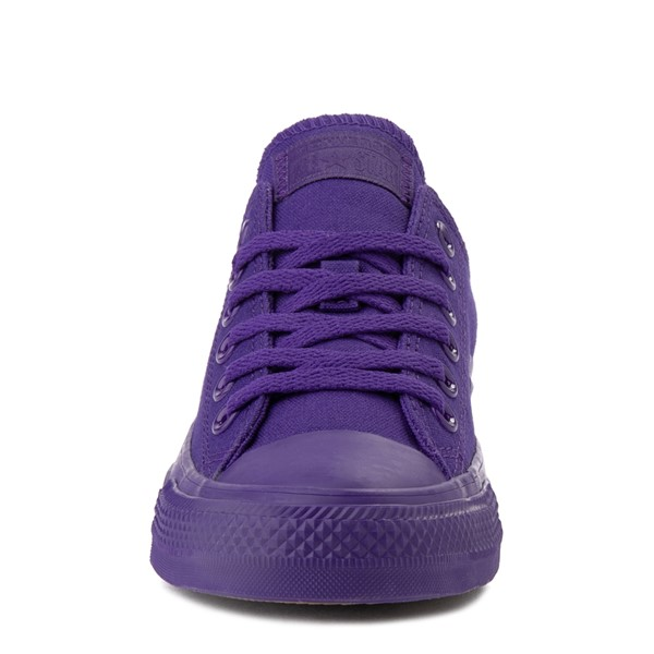 alternate view Converse Chuck Taylor All Star Lo Monochrome Sneaker - Court PurpleALT4