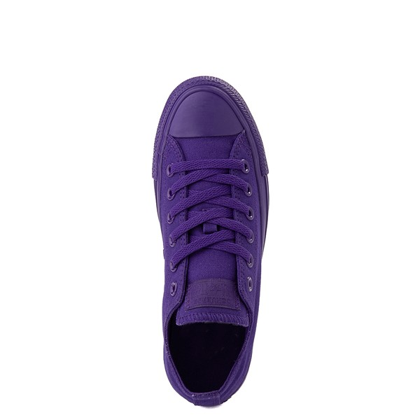 alternate view Converse Chuck Taylor All Star Lo Monochrome Sneaker - Court PurpleALT4B