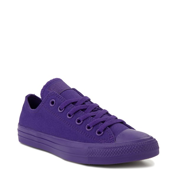 alternate view Converse Chuck Taylor All Star Lo Monochrome Sneaker - Court PurpleALT5