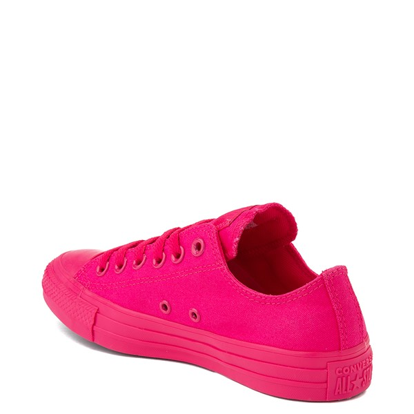 alternate view Converse Chuck Taylor All Star Lo Monochrome Sneaker - Cerise PinkALT1