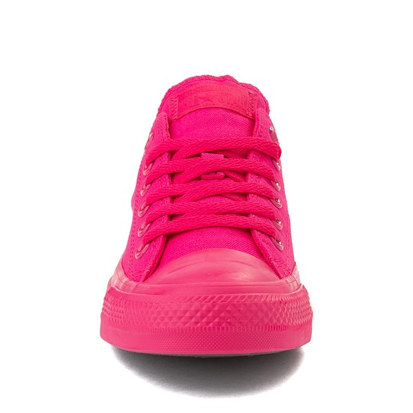 alternate view Converse Chuck Taylor All Star Lo Monochrome Sneaker - Cerise PinkALT4