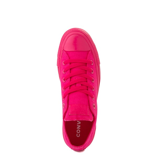 alternate view Converse Chuck Taylor All Star Lo Monochrome Sneaker - Cerise PinkALT4B