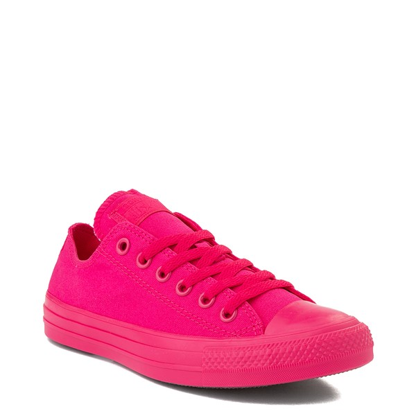 alternate view Converse Chuck Taylor All Star Lo Monochrome Sneaker - Cerise PinkALT5