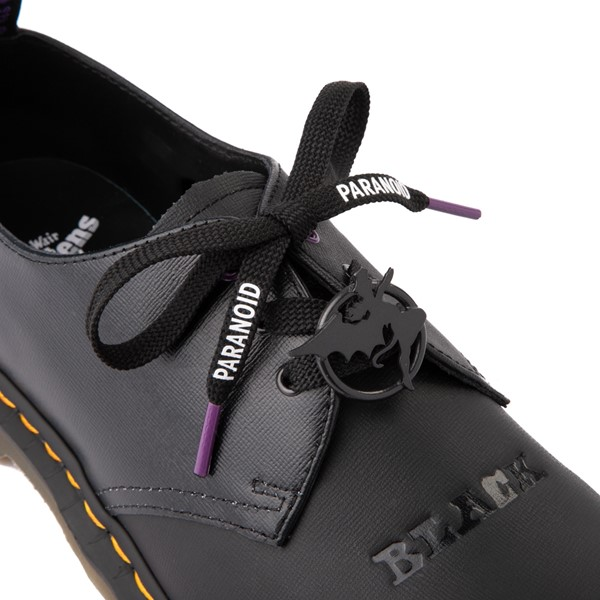 alternate view Dr. Martens 1461 Black Sabbath Casual Shoe - BlackALT1B