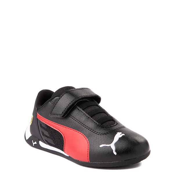 alternate view Puma Scuderia Ferrari Replicat Athletic Shoe - Little Kid - Black / RedALT1