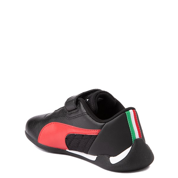 alternate view Puma Scuderia Ferrari Replicat Athletic Shoe - Little Kid - Black / RedALT2