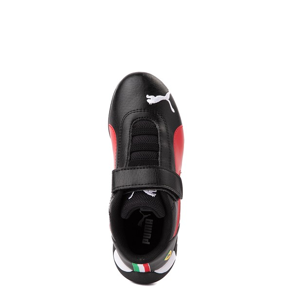 alternate view Puma Scuderia Ferrari Replicat Athletic Shoe - Little Kid - Black / RedALT4B
