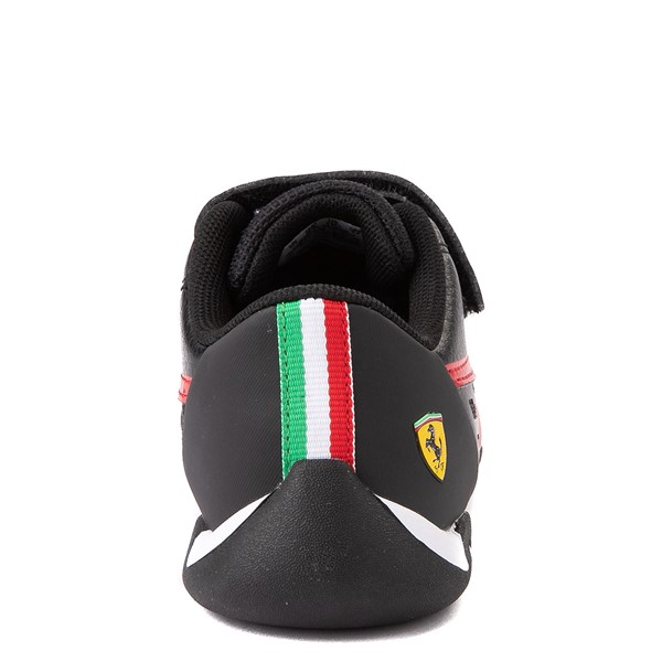 alternate view Puma Scuderia Ferrari Replicat Athletic Shoe - Little Kid - Black / RedALT6