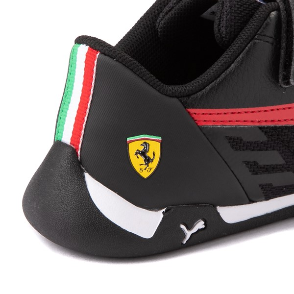 alternate view Puma Scuderia Ferrari Replicat Athletic Shoe - Little Kid - Black / RedALT7