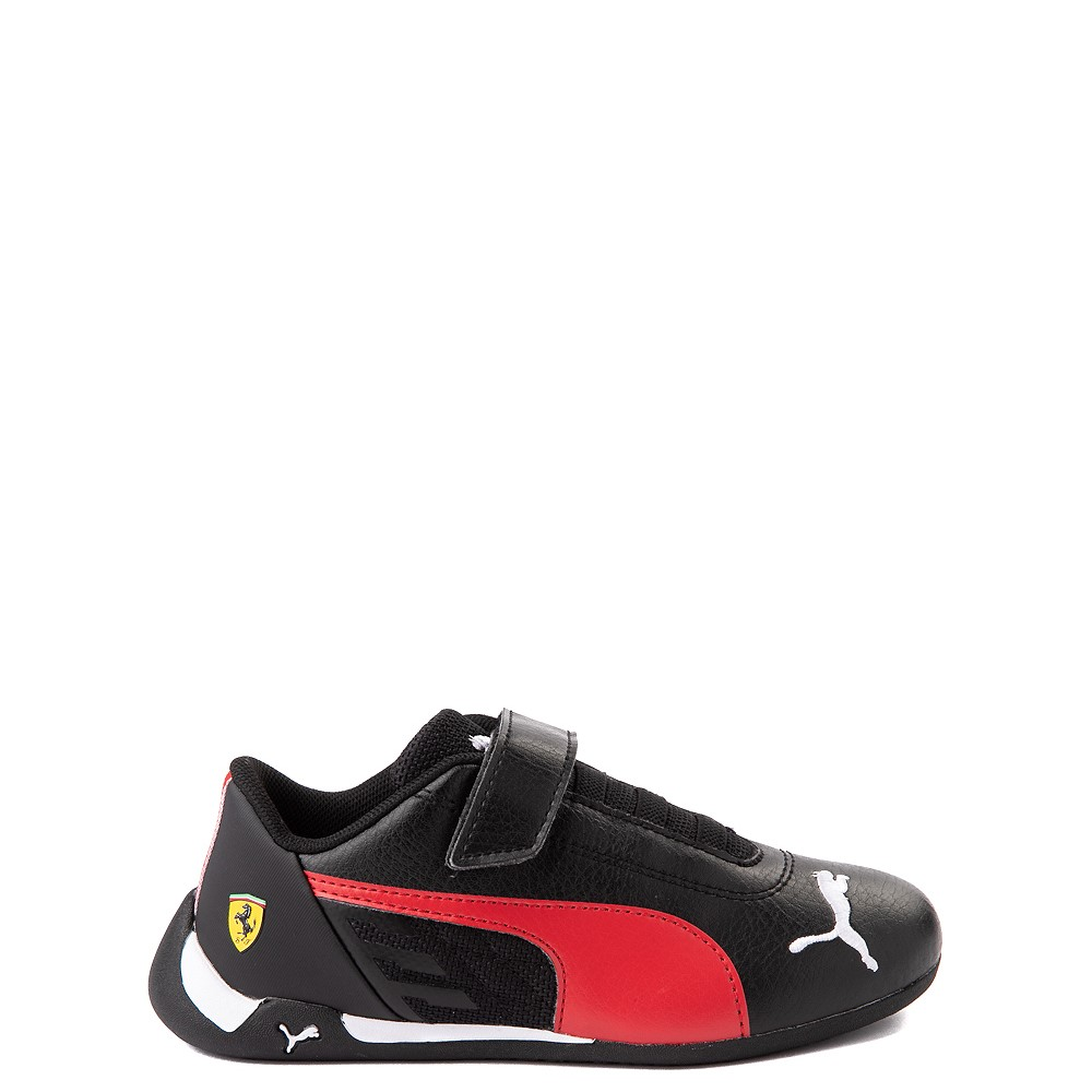 Puma Scuderia Ferrari Replicat Athletic Shoe - Little Kid - Black / Red