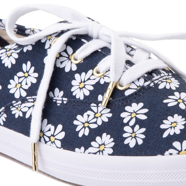 alternate view Womens Keds Champion Original Casual Shoe - Navy/FloralALT1B