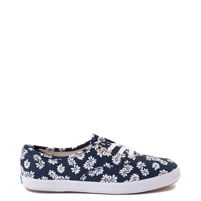 Main view of Womens Keds Champion Original Casual Shoe - Navy/Floral