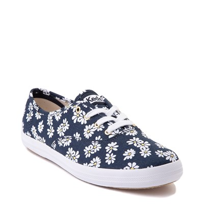 Alternate view of Womens Keds Champion Original Casual Shoe - Navy/Floral