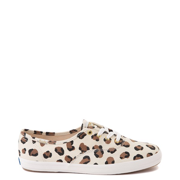 Womens Keds Champion Original Casual Shoe - Leopard