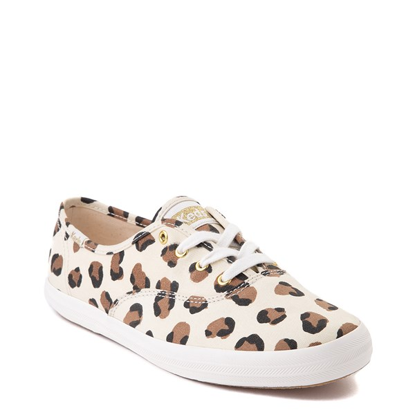 alternate view Womens Keds Champion Original Casual Shoe - LeopardALT1